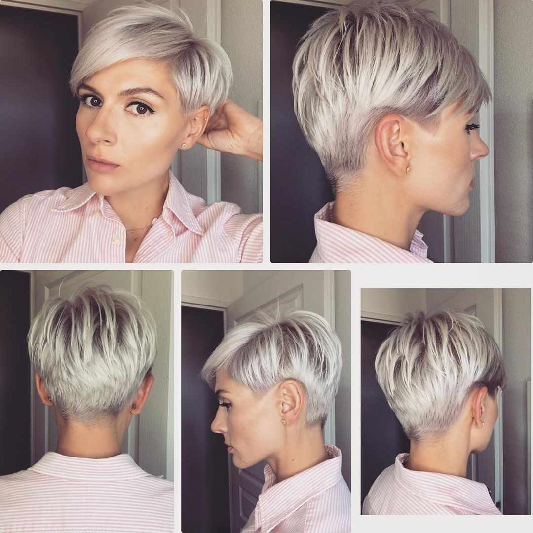 Pixie Haircuts For Thin Hair Pictures And Tips For 2019 2020 Year Short Thin Hair Short Hair Styles Pixie Short Hair Trends