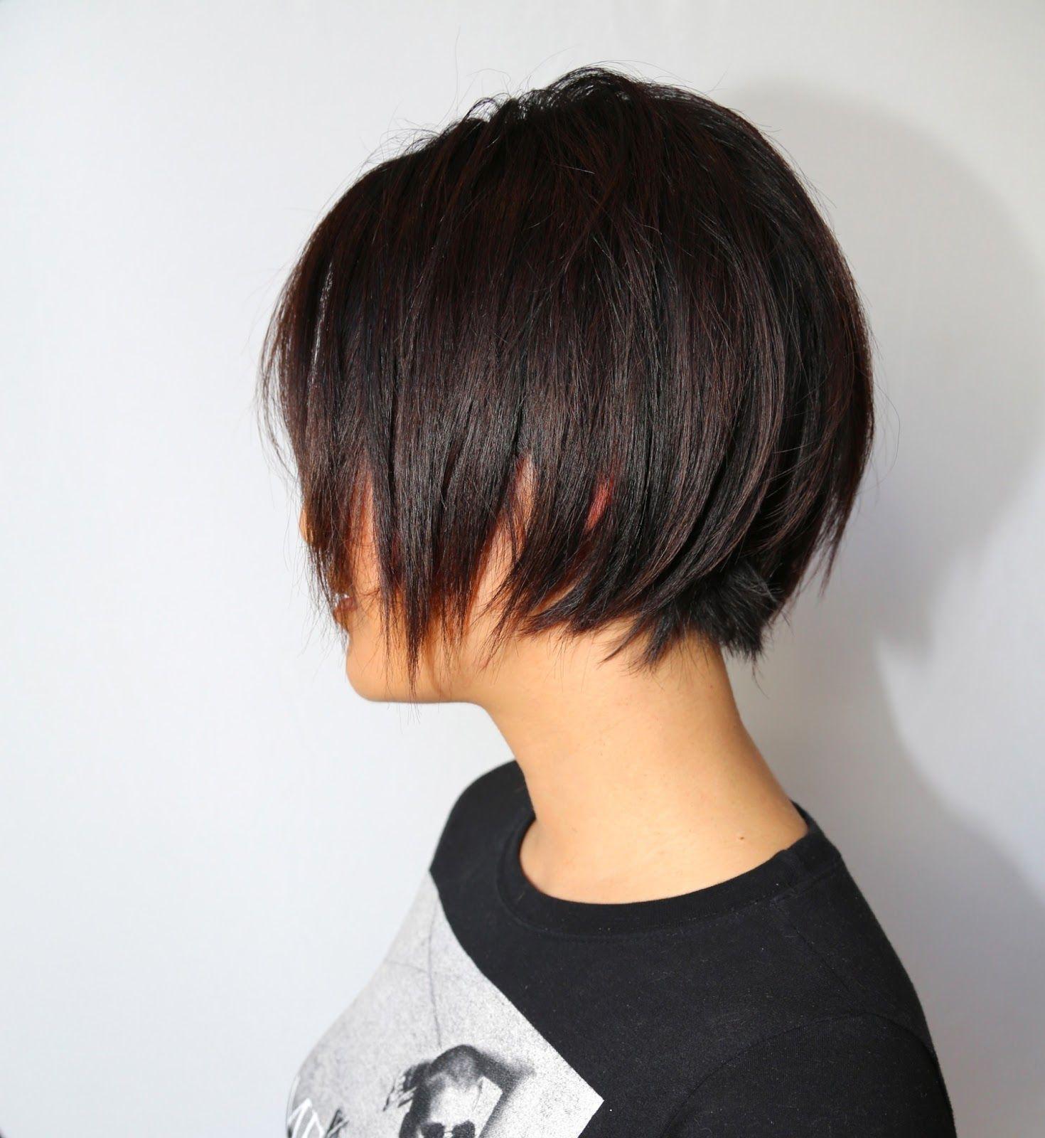Pin Op Short Hair