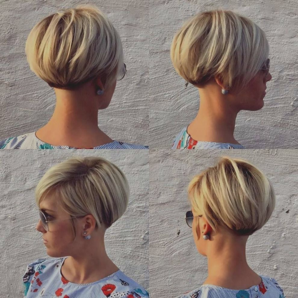 Elegant Van Top 7 Kapsel Bob 2018 Kort Avec La Nuque En Pointe Et L C Id Es Haircut Pinterest Kapsels Voor Kort Haar Leuke Korte Kapsels Kapsels