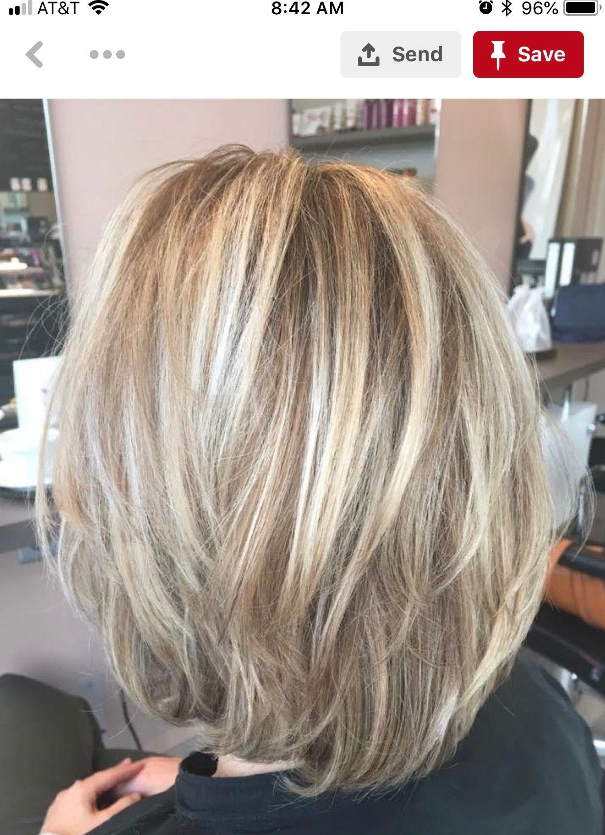 Mooie Kleuren Halflange Kapsels Kapsels Halflang Gelaagd Haar