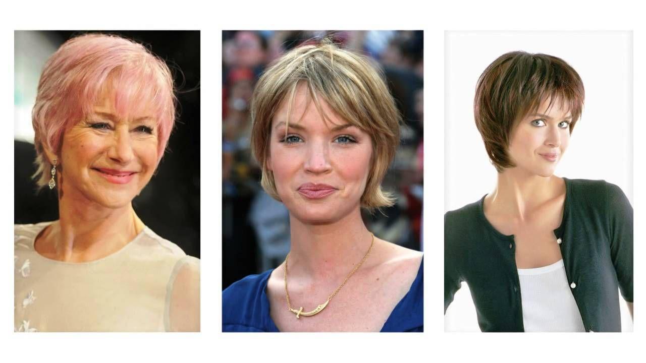 Korte Kapsels Rond Gezicht Youtube Gezicht Kapsel Lang Vrouw Kapsels Korte Voor Dames Kort Smal Een Rond Vierkant Unie In 2020 Womens Hairstyles Hair Styles Coiffure