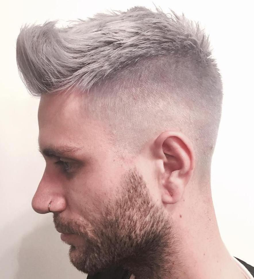 100 Cool Short Hairstyles And Haircuts For Boys And Men Kapsels Grijze Kapsels Mannen Kort Haar