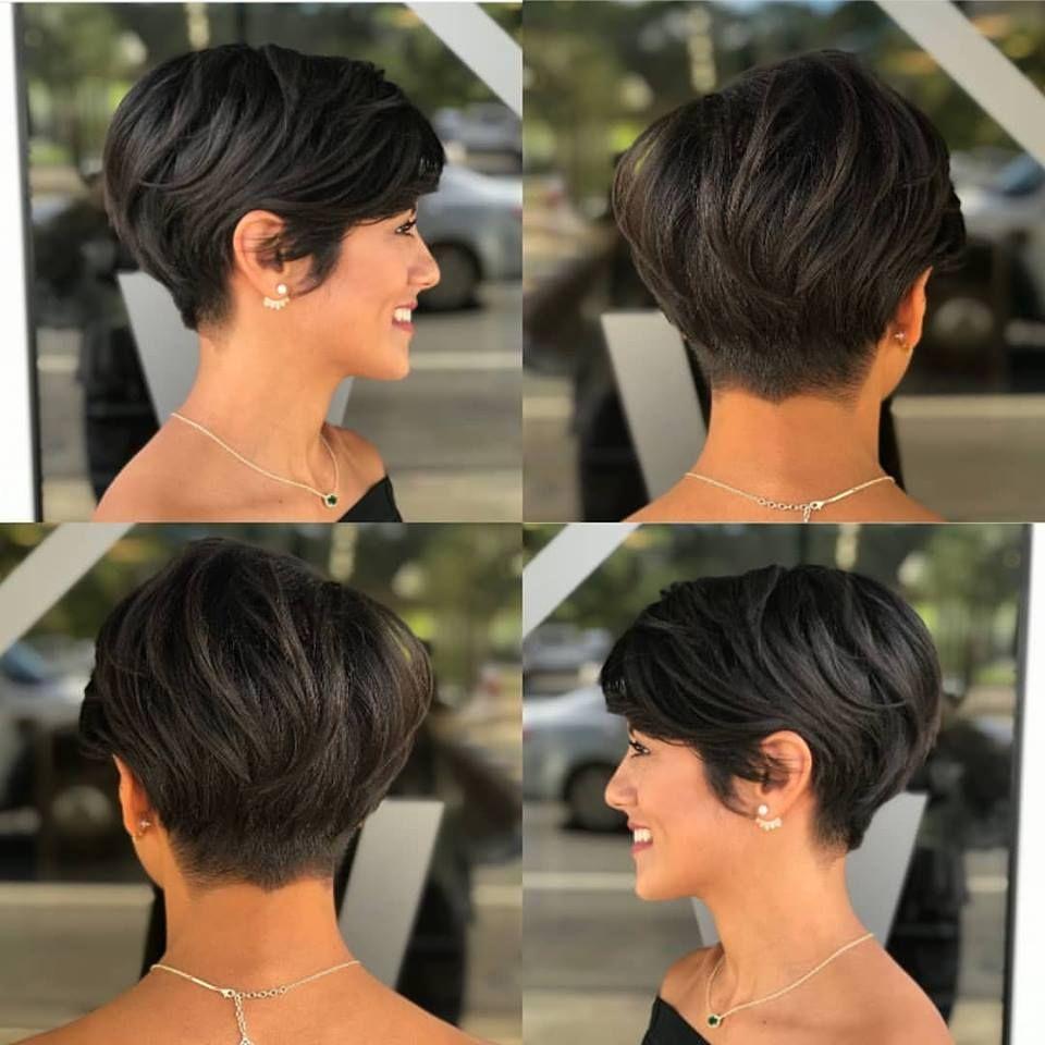 Haareideen Com Korte Kapsels Zwart Haar Kort Haar Kapsels Voor Kort Haar