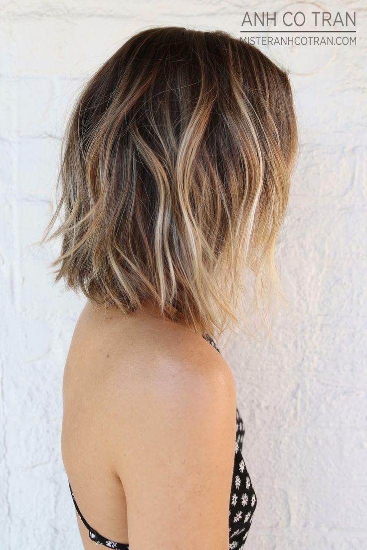 Hair Styles Mode Kapsels Kort Haar Balayage Kapsels