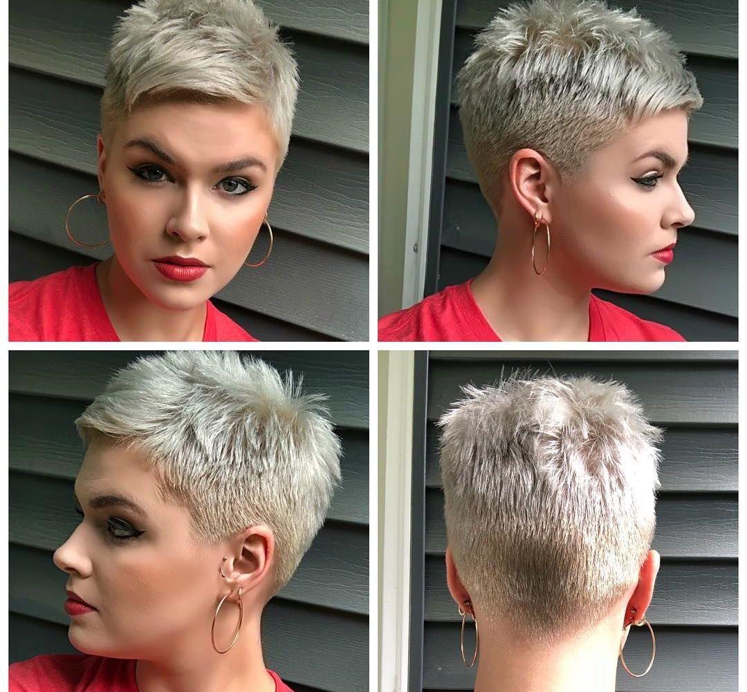 11x Extreem Kort En Extreem Vrouwelijk Korte Kapsels Kort Kapsel Vrouwelijk Kort Geknipt Haar Kort Kapsel Dik Haar