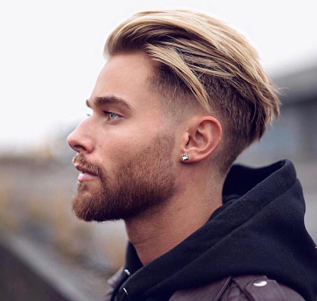 Trendy Hairstyles For Men With Blonde Hair Color Fashionably Male Herenkapsels Heren Kapsel Trendy Herenkapsels