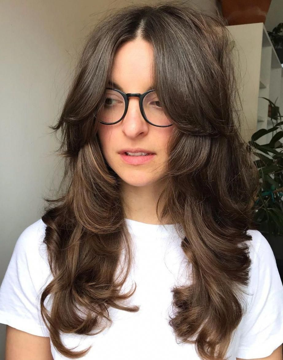 17 Gorgeous Long Hair With Side Bangs For 2019 Style My Hairs Layered Haircuts With Bangs Layered Haircuts Hair Styles