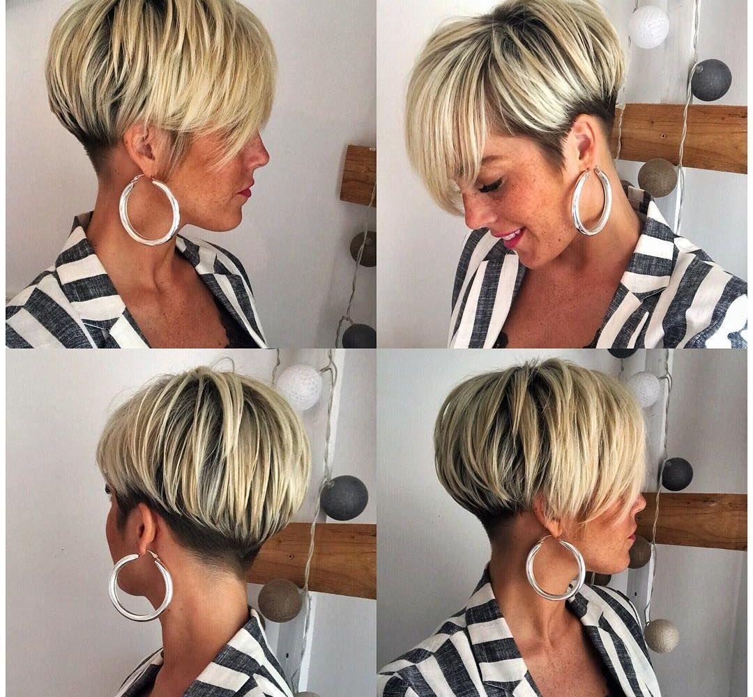 14x Populairste Korte Kapsel Van 2018 Korte Kapsels Kapsels Kapsels Voor Kort Haar Korte Kapsels Fijn Haar