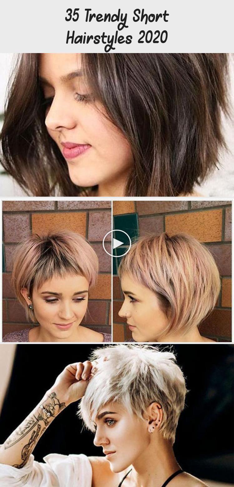 35 Trendy Korte Kapsels 2020 Trendy Short Hair Styles Hair Styles Short Hair Styles
