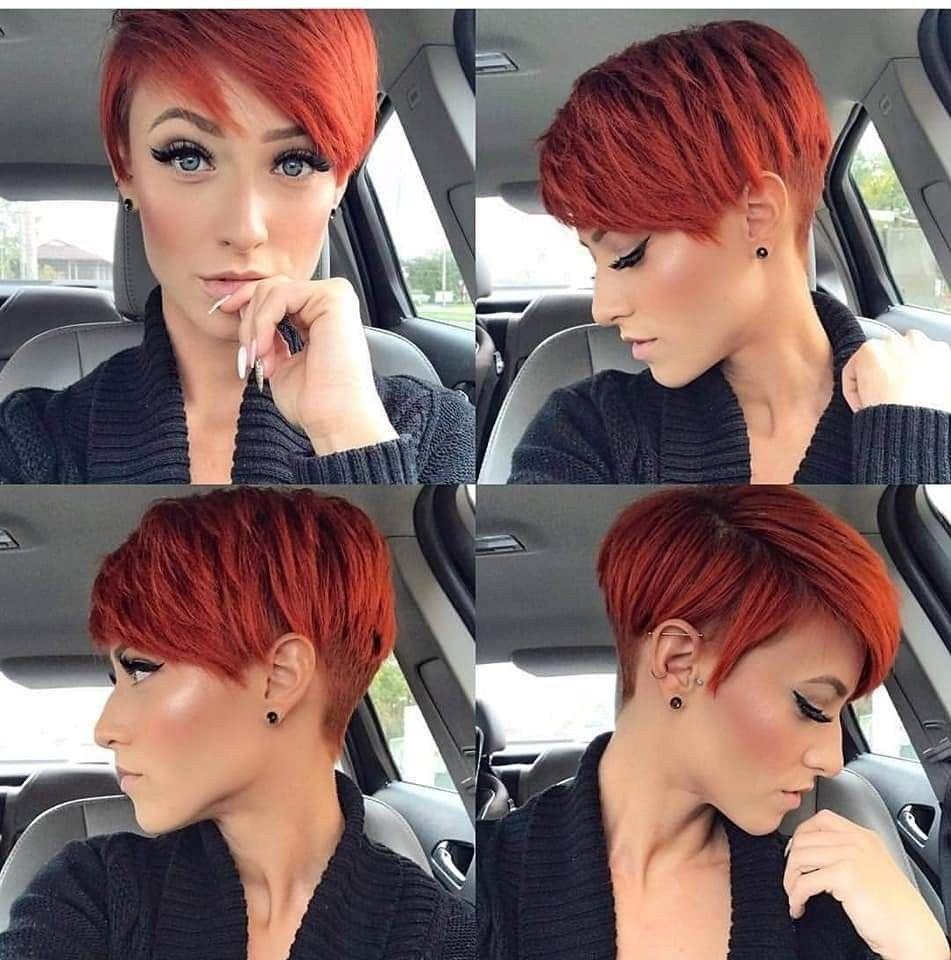 Frisuren Kapsels Kort Kapsel Rood Haar Kapsels Voor Kort Haar