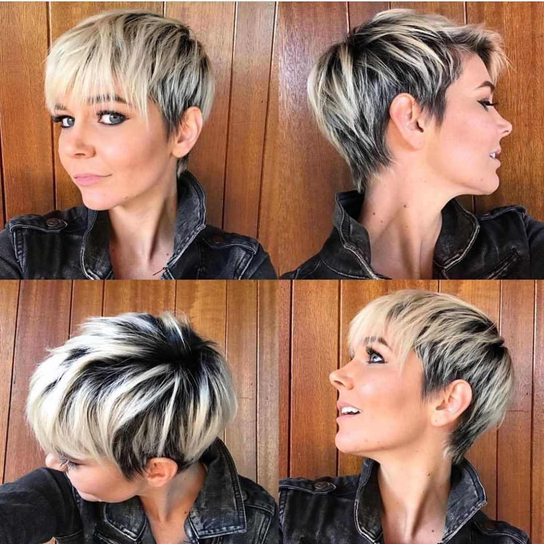Pixie Haircuts For Women 2019 And 2020 Trends Short Hair With Bangs Short Hair Styles Pixie Short Hair Styles