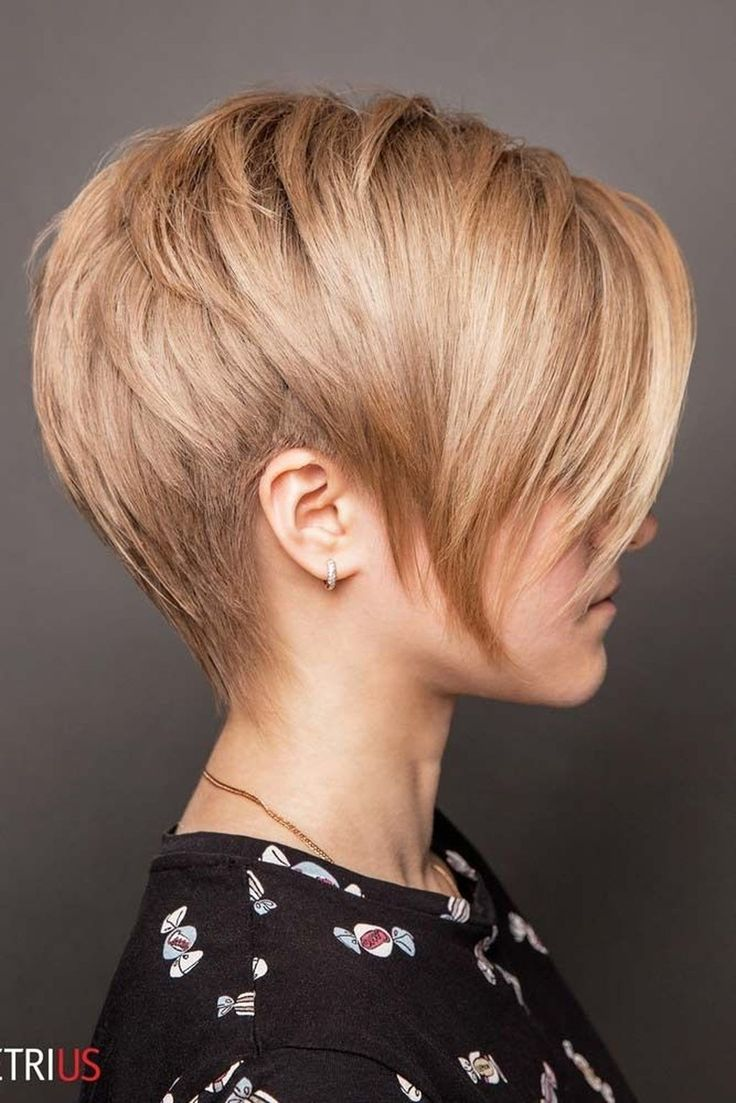 34 Awesome Short Haircuts Ideas For Women Office That Looks Elegant Kapsels Voor Kort Haar Pixie Kapsels Kapsels