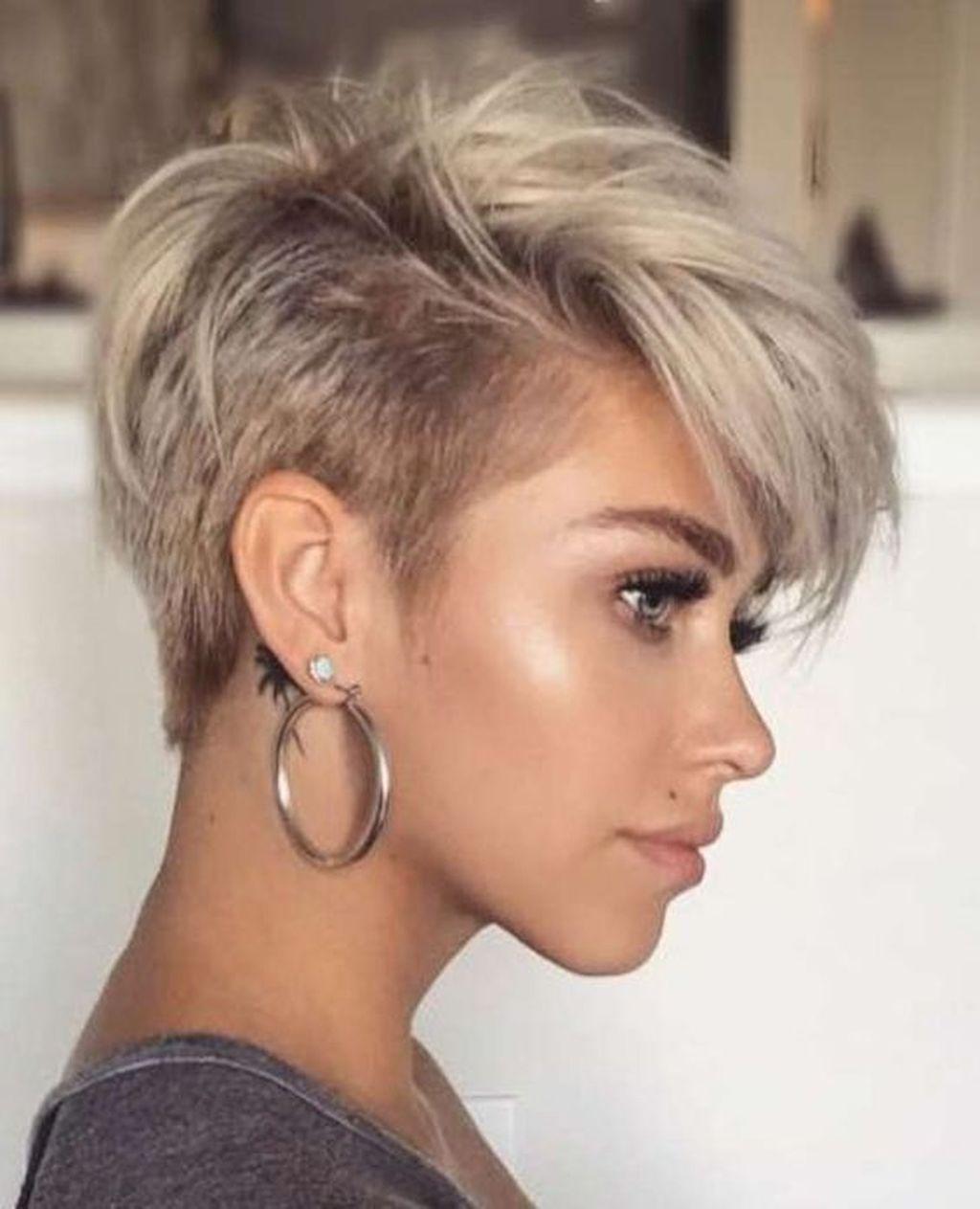 30 Lovely Short Hairstyles Women Ideas Kapsels Kapsels Voor Kort Haar Kort Haar Kapsels