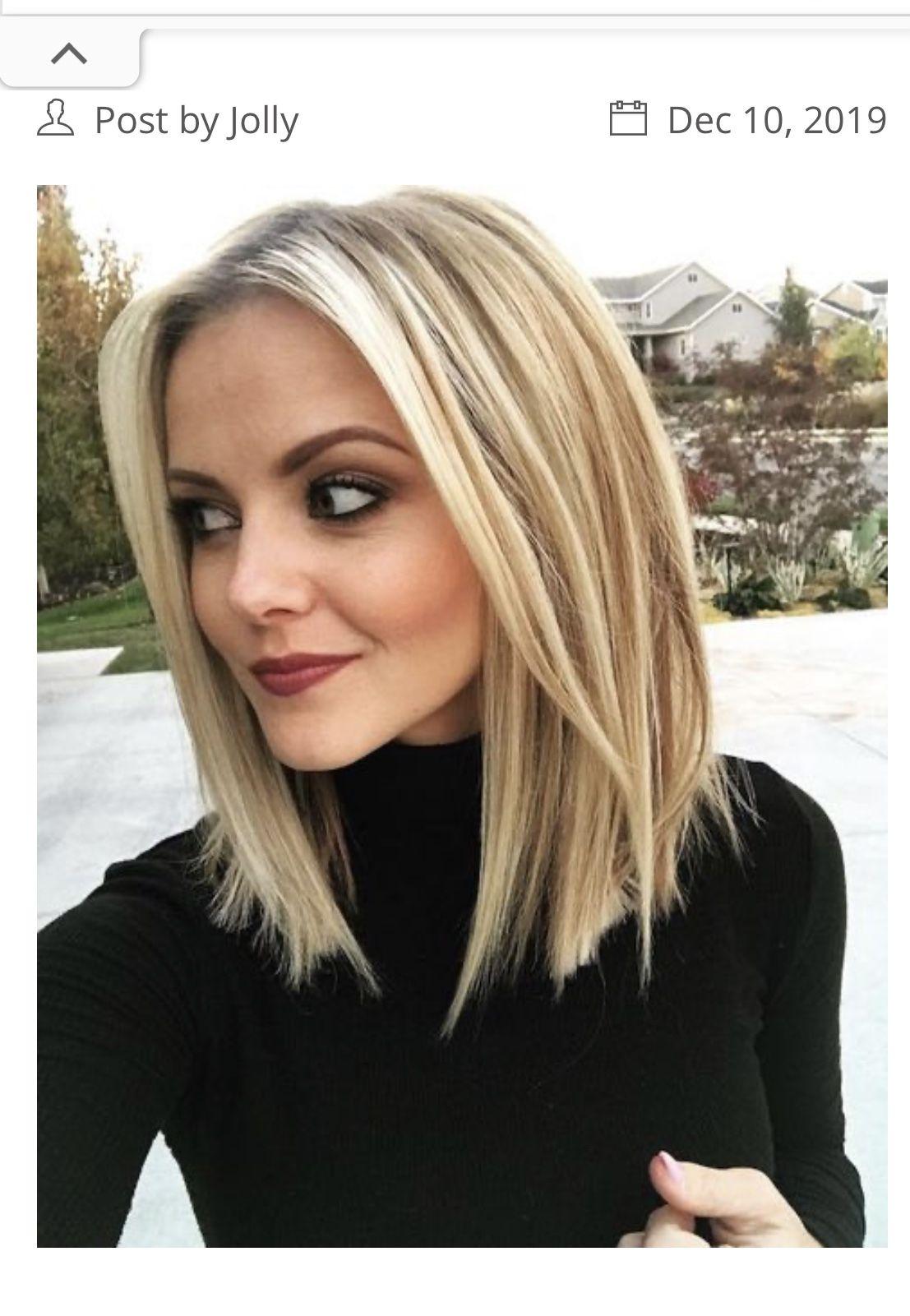 Pin Van Lynn Fransen Op Hair Kapsels Halflang Stijl Haar Stijl Haar Bob Stijl Haar