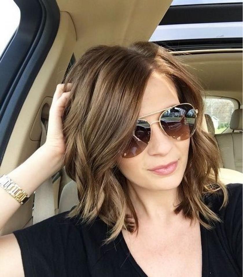 Trendy Kapsels Voor Halflang Haar Libelle Kapsels Haarstijlen Lange Kapsels