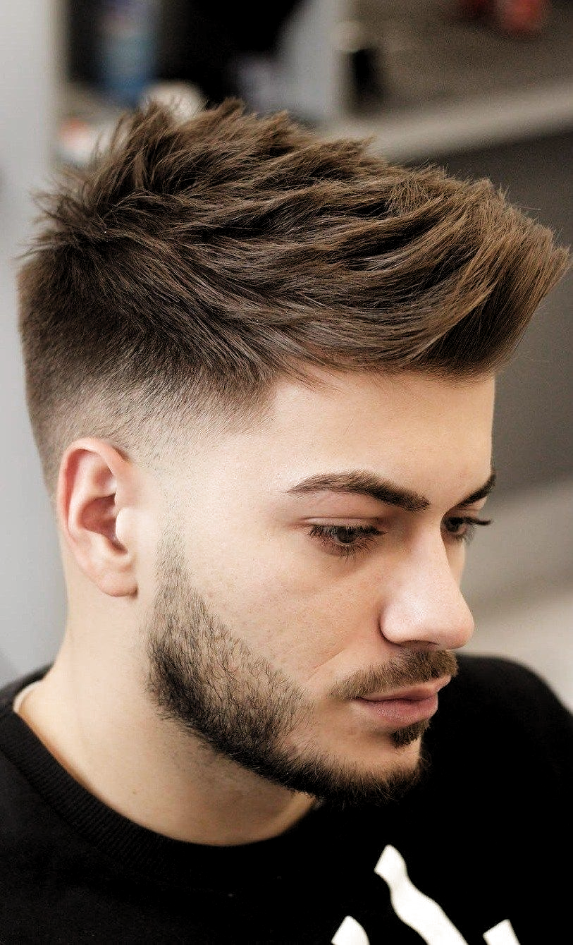30 Most Favorable Fine Hairstyles For Men In 2020 Favorable Fine Hairstyles Men Mens Haircuts Short Mens Hairstyles Fade Hair Styles