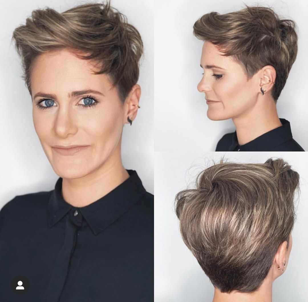 40 Best New Pixie Haircuts For Women 2018 2019 Short Hair Styles Blonde Highlights Short Hair Short Hair With Layers