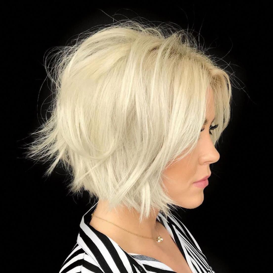 100 Mind Blowing Short Hairstyles For Fine Hair Korte Kapsels Voor Fijn Haar Kapsels Fijn Haar Kapsels