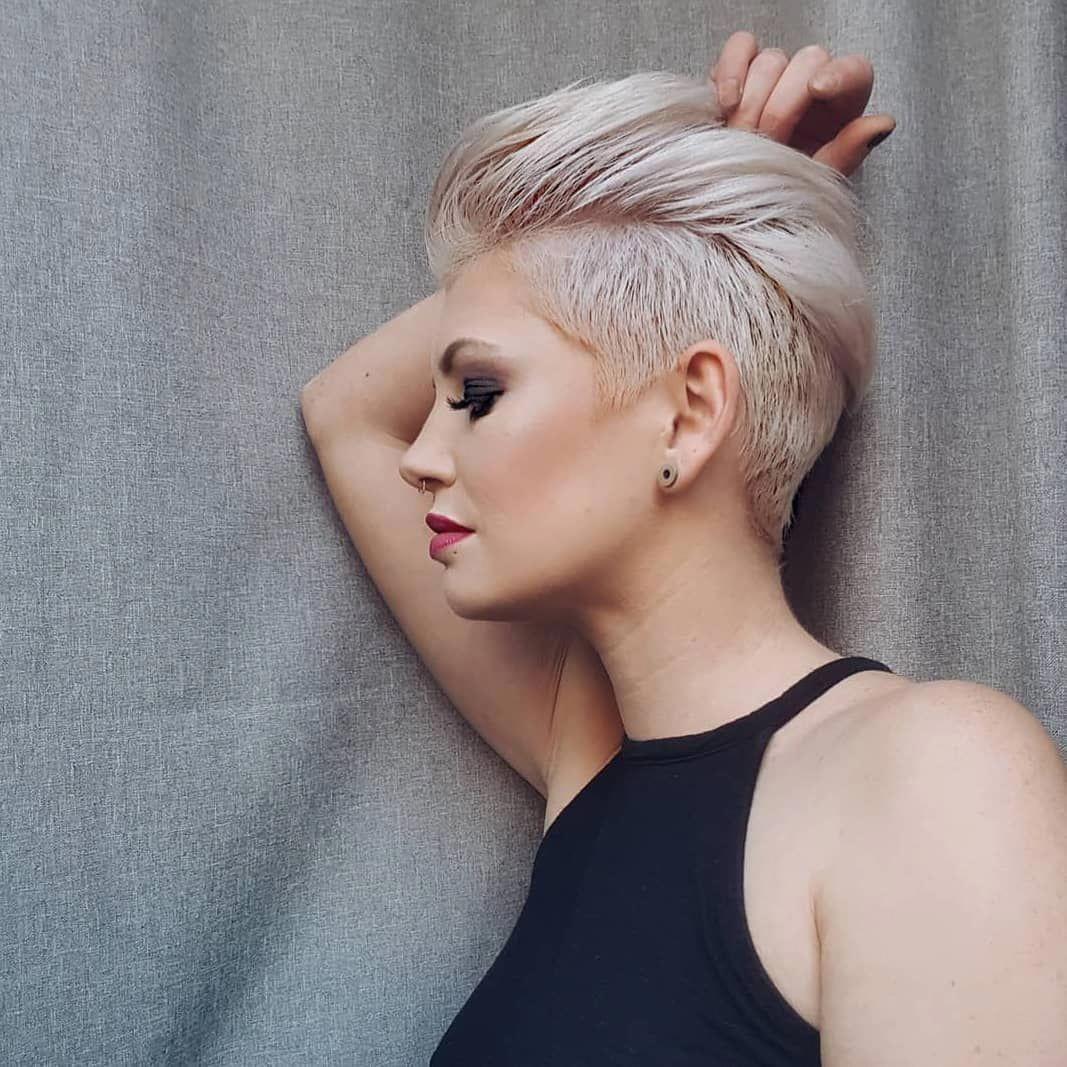 Stylish Pixie Haircut 2018 Best Short Hair Styles For Women Shorthairstyles Haarstijlen Kapsels Edgy Pixie