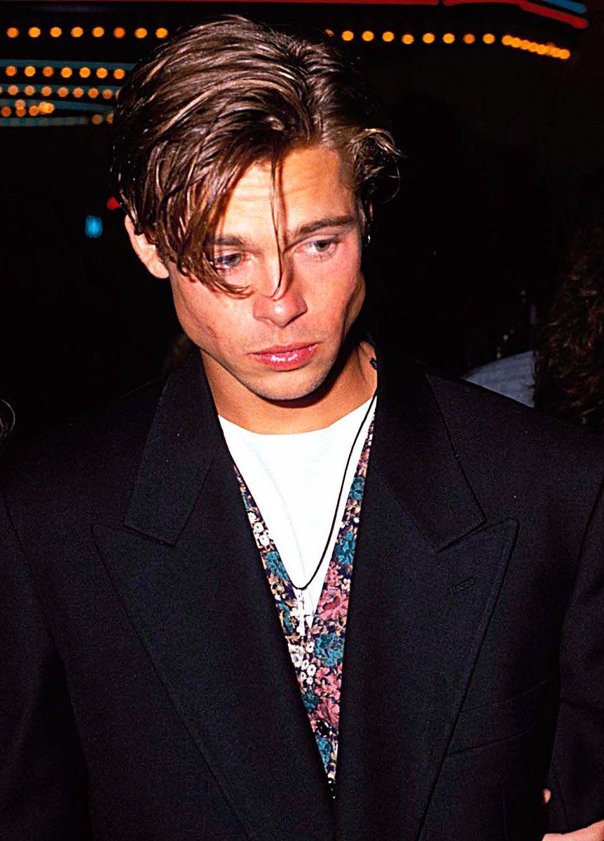 Brad Pitt 90 S Fashion Google Search Brad Pitt Brad Pitt Hair Brad Pitt Young