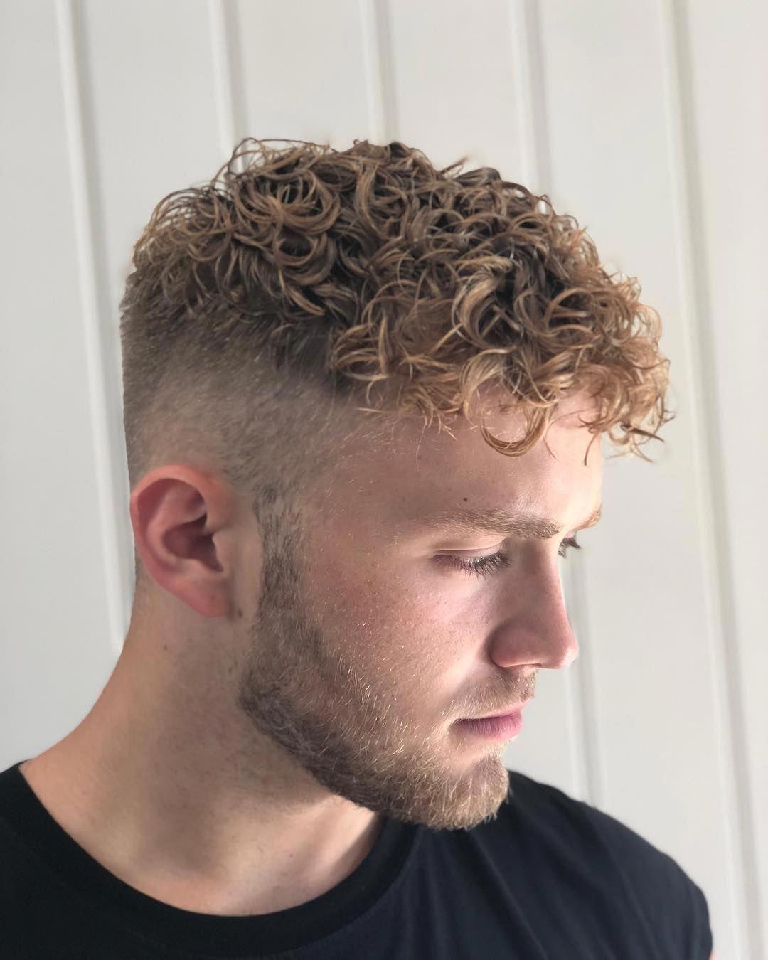 Refreshing Oscar Mcmillan Perm Perm Curls Manperm Merm Hairstyletrendsformen Short Permed Hair Curly Hair Fade Permed Hairstyles