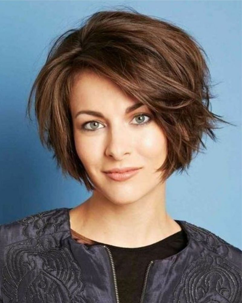 Asymmetrische Bob Kapsels Voor Dames 2018 Bob Kapsels 2018 Dames Haircut For Thick Hair Short Hairstyles For Thick Hair Choppy Bob Hairstyles