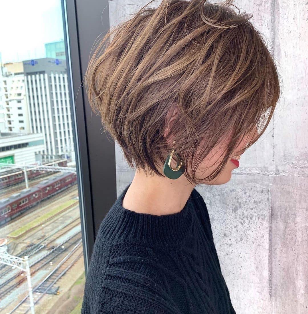 Pin Van Dawson Chou Op Girl Hair Short Kapsels Kort Haar Kapsels Kapsels Voor Kort Haar