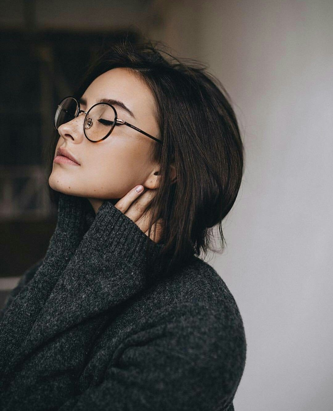 100 Ideeen Over Girls With Glasses Bril Brillen Vrouw