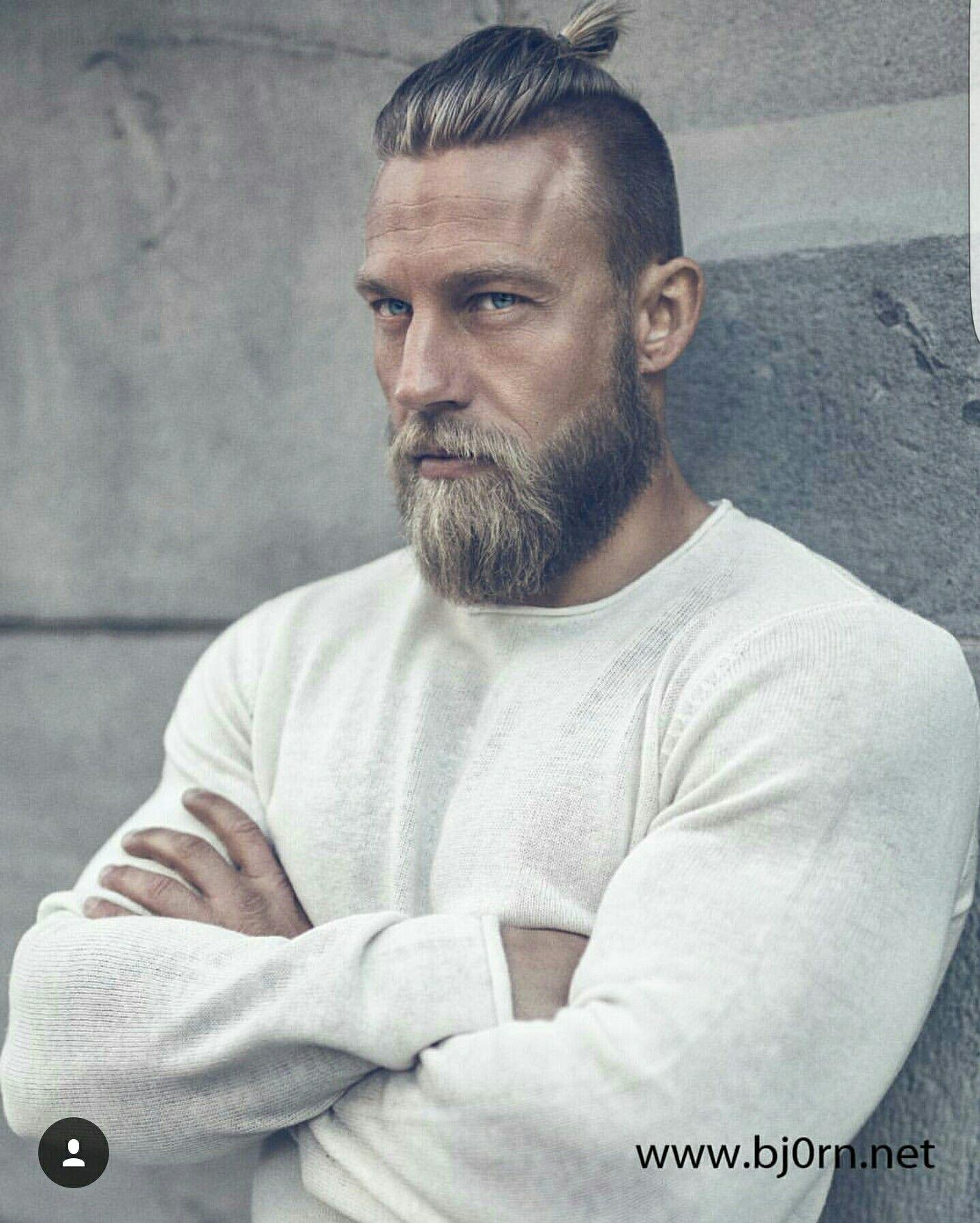 Stian Bjornes Baard Stijl Baard Man Herenkapsel
