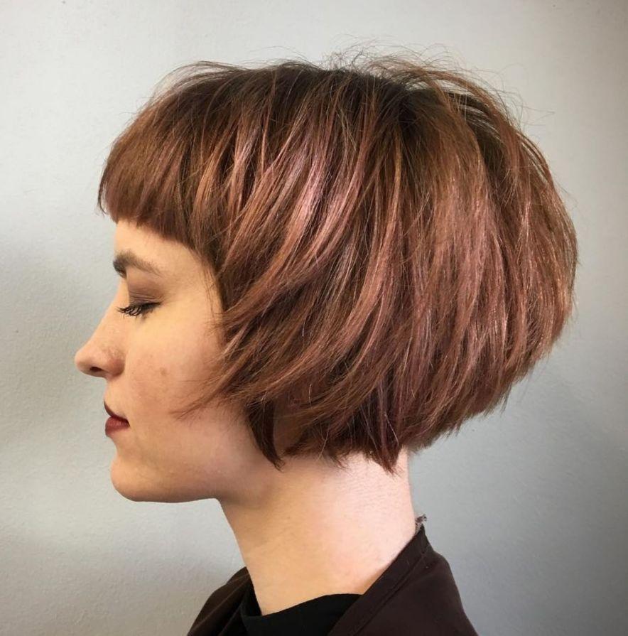 60 Best Short Bob Haircuts And Hairstyles For Women Kapsels Kort Haar Kapsels En Kort Kapsel Pony