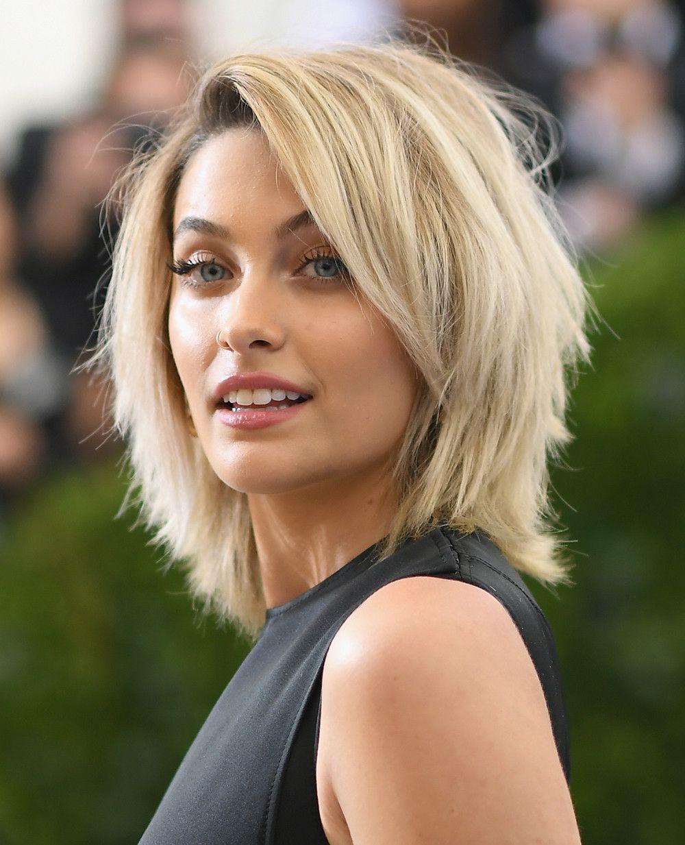 Paris Jackson Halflang Kapsel Voor Fijn Haar Kapsels Halflang Fijn Haar
