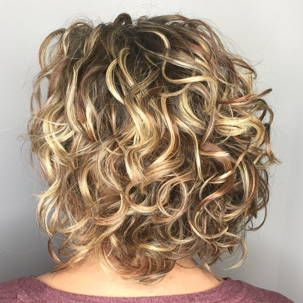 65 Different Versions Of Curly Bob Hairstyle Bob Kapsel Krullen Halflang Kapsel Krullen En Kapsels Voor Krullend Haar