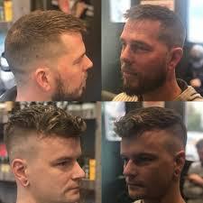kapsels voor mannen met inhammen en dun haar