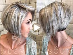 korte bob kapsels blond