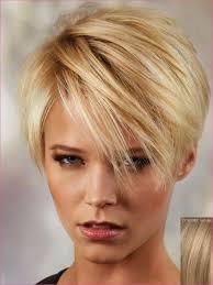 korte kapsels blond fijn haar