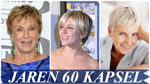 korte kapsels dames 60 plus 2020