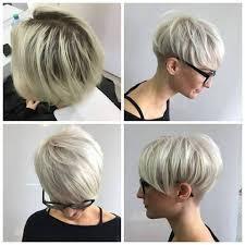 korte kapsels dik grijs haar