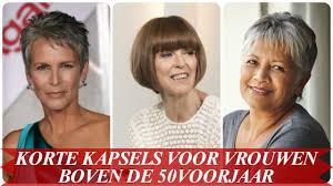 korte kapsels voor dames boven de 50