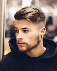 mannen kapsels 2019 kort blond