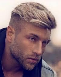 mannen kapsels 2020 blond