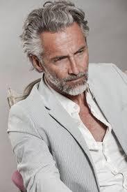 mannen kapsels 2020 grijs haar